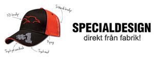 Specialdesign direkt till fabrik!