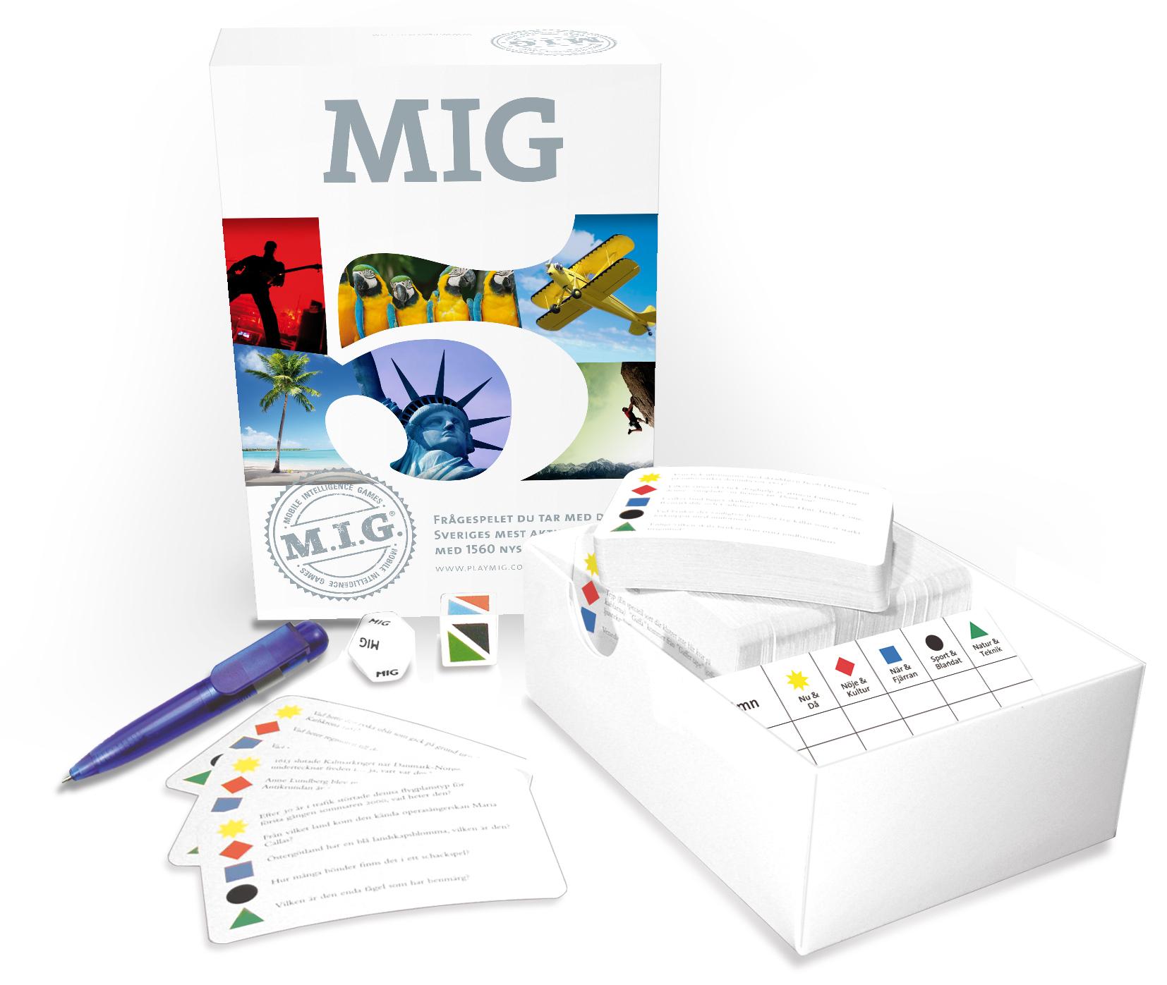 Sällskapsspel MIG5