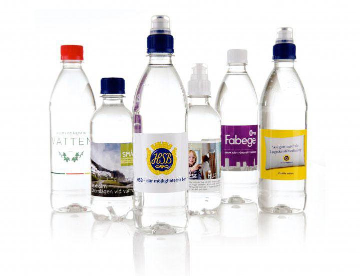 Produktbild Vattenflaskor med tryck